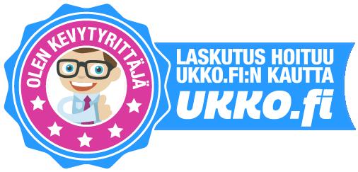 Olen kevytyrittäjä, laskutus hoituu ukko.fi:n kautta