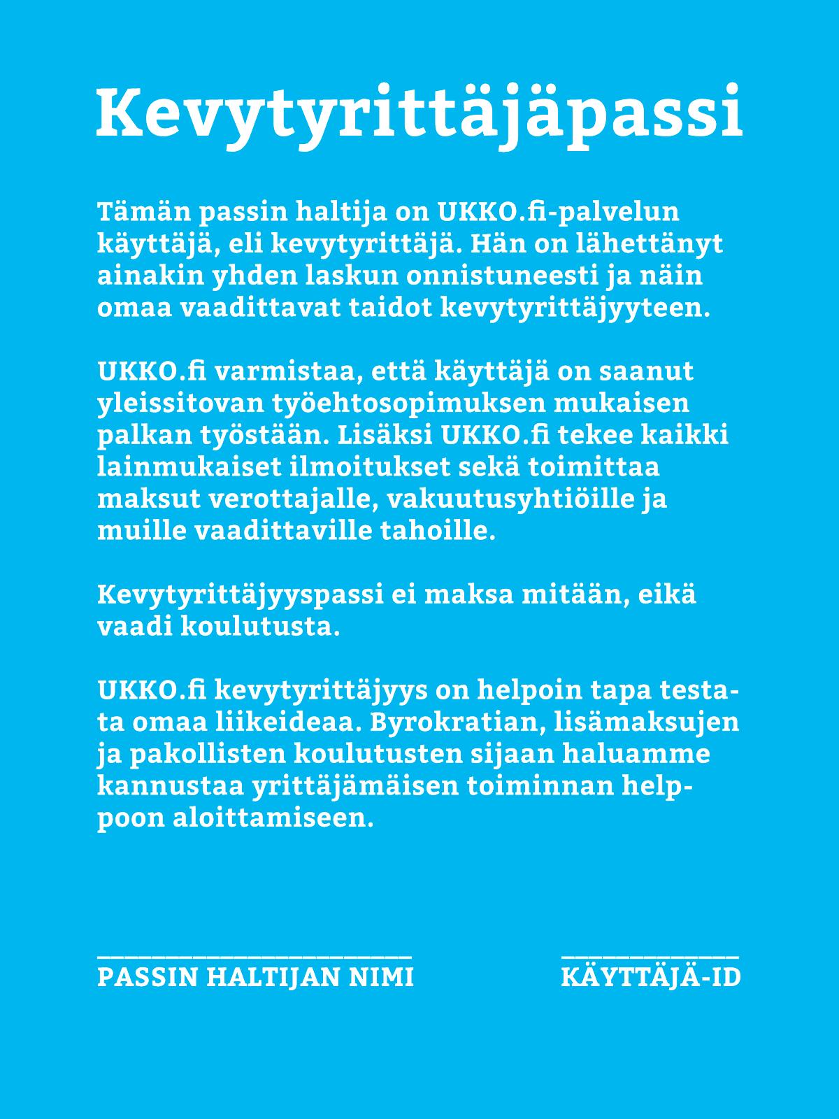 ukko-passi